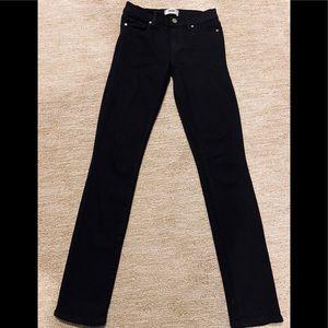 PAIGE Verdugo Ultra Skinny Jeans in Black